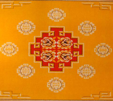 tapis mongole